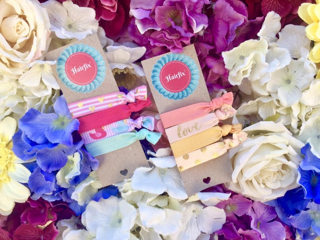 Hairfix Softie gumičky v kvetoch