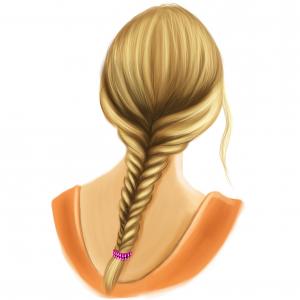 Hairfix fishtail braid