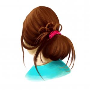 Hairfix Messy Bun