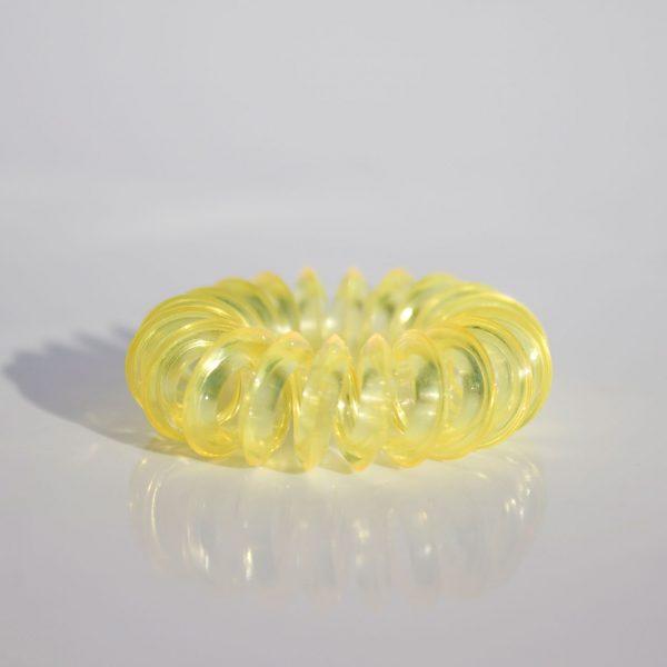 Malá žltá gumička do vlasov Hairfix - Mini Yellow