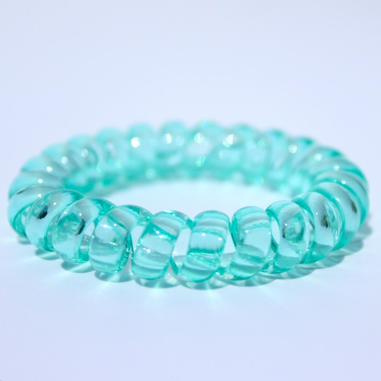 Mentolová gumička do vlasov Hairfix - Crystal Mint
