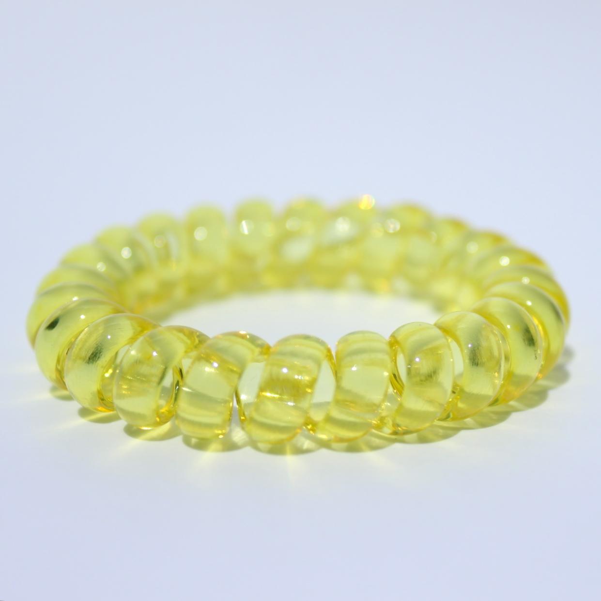 Žltá gumička do vlasov Hairfix - Crystal Yellow
