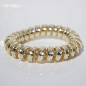 Zlatá gumička do vlasov Hairfix - Metallic Gold
