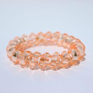 Koralová gumička do vlasov Hairfix - Crystal Špicaté Coral