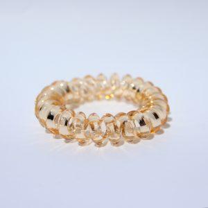Zlatá gumička do vlasov Hairfix - Crystal Špicaté Špeciál Gold