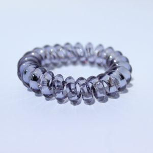 Šedá gumička do vlasov Hairfix - Crystal Špicaté Špeciál Grey