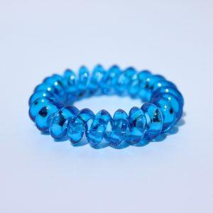 Modrá gumička do vlasov Hairfix - Crystal Špicaté Špeciál Blue