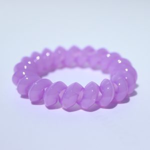 Fialová gumička do vlasov Hairfix - Solid Purple