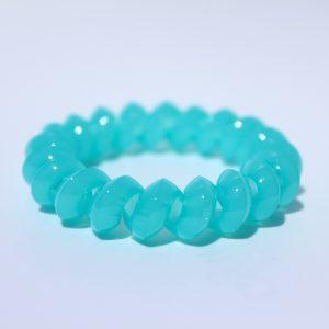 Tyrkysová gumička do vlasov Hairfix - Solid Turquoise
