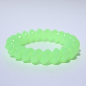 Neónovo zelená gumička do vlasov Hairfix - Solid Neon Green