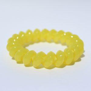 Žltá gumička do vlasov Hairfix - Solid Yellow