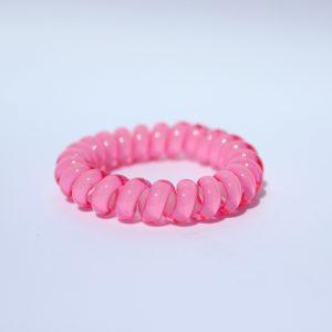 Ružová gumička do vlasov Hairfix - Cool Pink