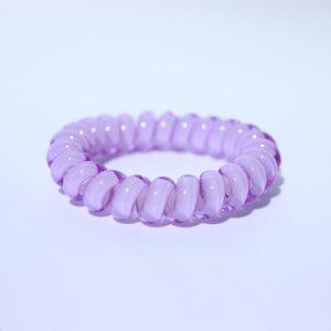 Fialová gumička do vlasov Hairfix - Cool Purple