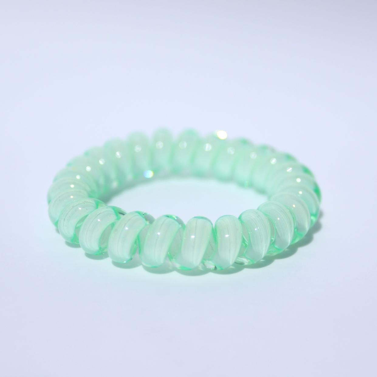 Mentolová gumička do vlasov Hairfix - Cool Mint Green