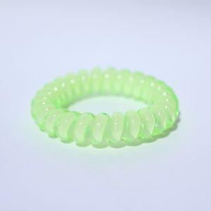 Jablkovo zelená gumička do vlasov Hairfix - Cool Apple Green
