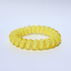 Žltá gumička do vlasov Hairfix - Cool Yellow