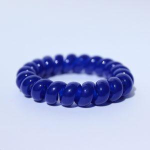 Modrá gumička do vlasov Hairfix - Classic Dark Blue