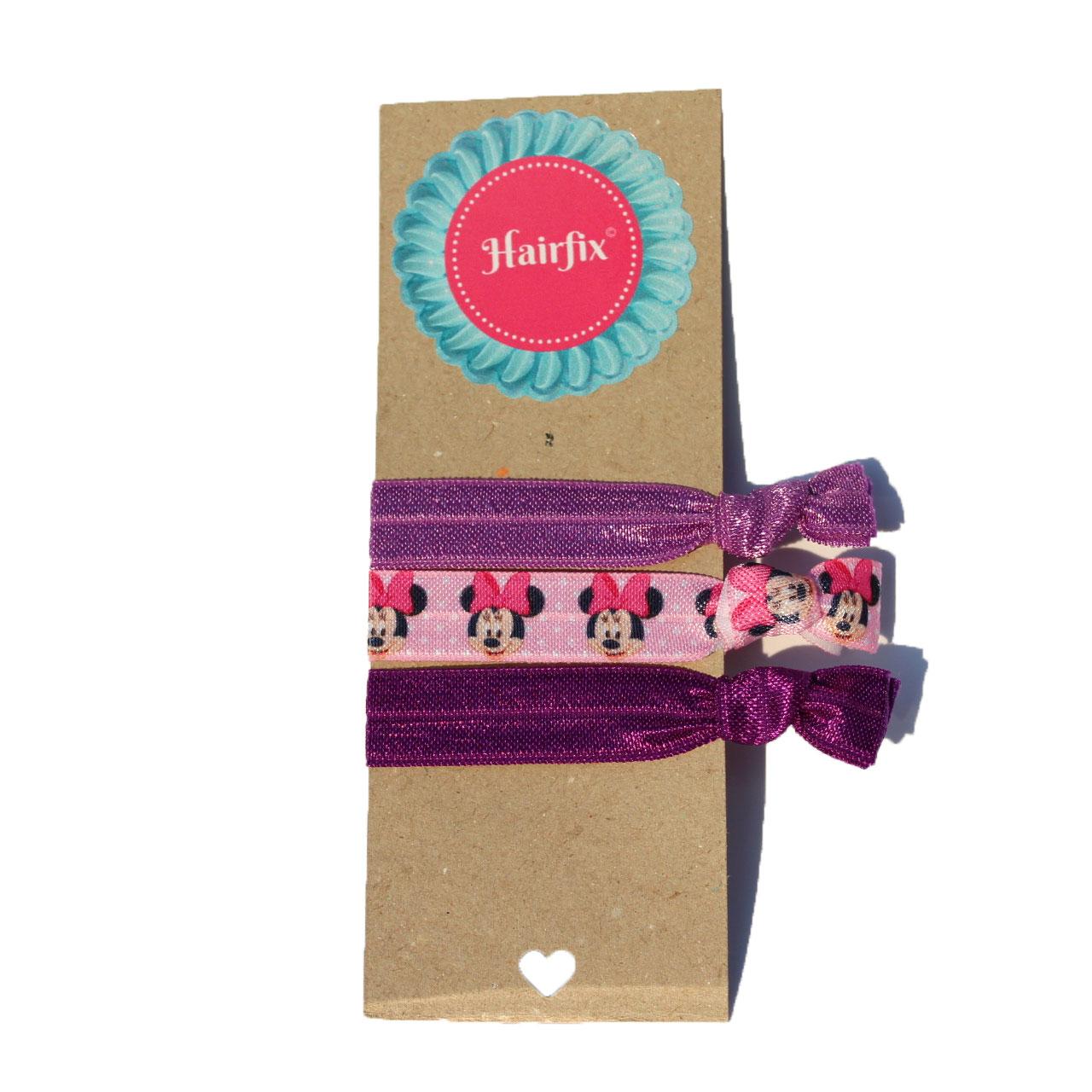Set gumičiek do vlasov Hairfix - Softie Minnie