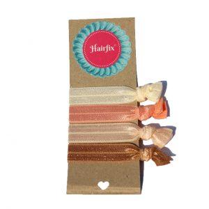 Set gumičiek do vlasov Hairfix - Softie Nude