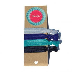 Set gumičiek do vlasov Hairfix - Softie Frozen