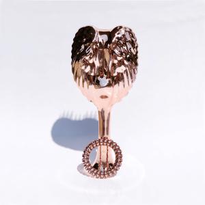 Ružovo-zlatá metalická kefa Tangle Angel PRO zadarmo so zladenou gumičkou